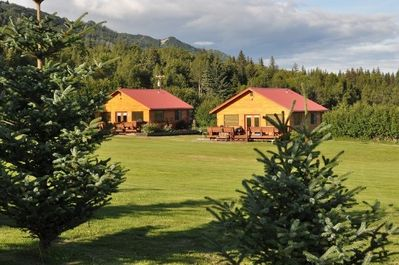 Beautiful Alaskan rental cottage, immaculately maintained amidst.