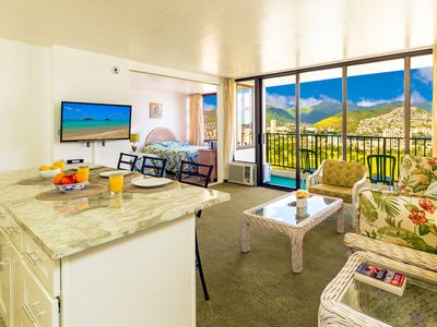 Photo for Great Mountain Views on 31st fl. | AC, Wifi & Parking | Short Walk to Beach