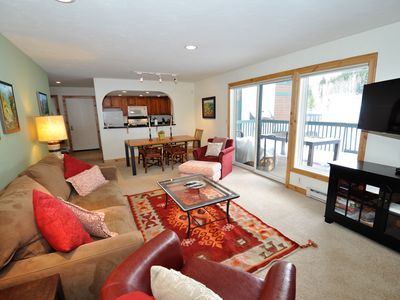Photo for Cute 2 Bedroom East Vail Condo #1202 w/ Hot Tub and Shuttle.
