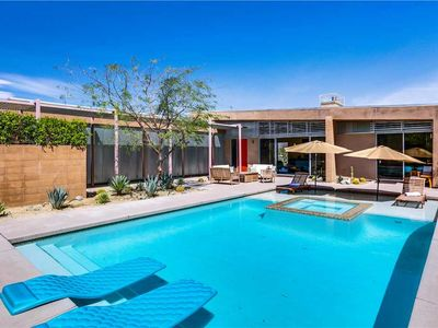 Photo for MID-CENTURY MODERN home is in the historic Little Tuscany neighborhood of Palm Springs