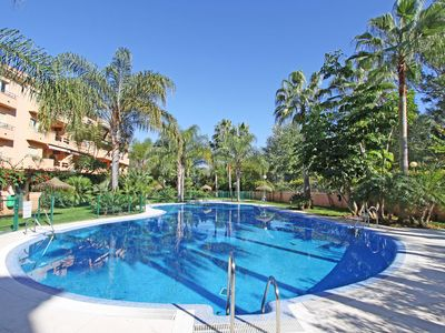 Photo for 1039 Beach Front 2. Line Family Penthouse large pool free wifi