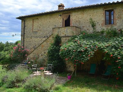Photo for 2BR Farmhouse Vacation Rental in Siena, Toscana