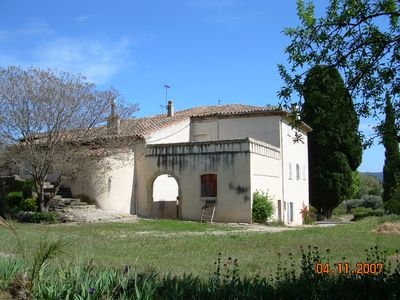 Photo for In a Provencal farmhouse (17th Century), renovated farm accommodation for 6