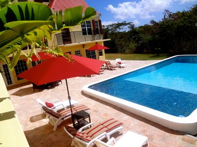 Photo for Private Gated Estate - Annaly Manor  ( US Virgin Islands )