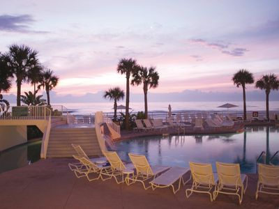 Photo for Ocean Walk 2 BR--Sleeps 8 W/ Lazy River, Water Slides, and Pool Bar!