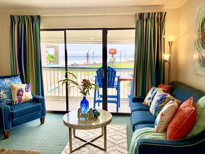 Photo for Beachfront suite- enjoy the sea, nature, food and relax.