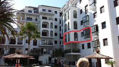 Photo for Lovely appartment with a sea view and close to the beach and Marina !