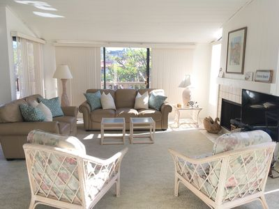Photo for Tranquil Living In A Fabulous Location. Oceanfront Complex. 2 BR 2.5 BA