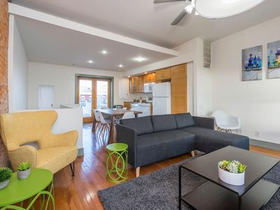 Photo for Spectacular Bi-level with 3 BD and a Roof Deck!!