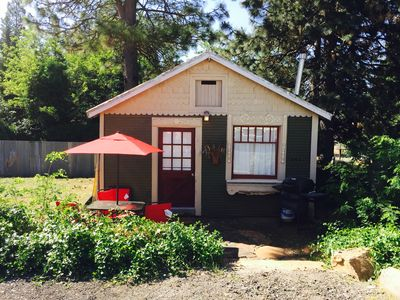 The Cottage In Foresthill On Main Street, in walking distance to wedding sites