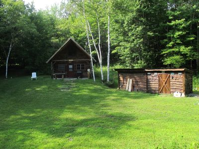 Photo for Cozy Cabin On 20 Wooded Acres In Vermont
