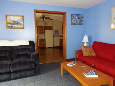 Photo for Bright, Cheery First Floor Condo in the Heart of Old Orchard Beach!