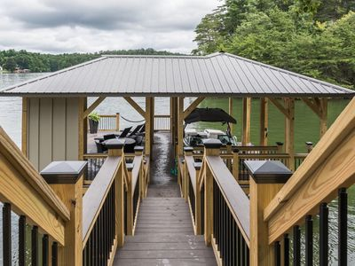 Photo for Newly Renovated Spacious Lake Hickory Home w/Dock, Kayaks, Firepit & Game Room