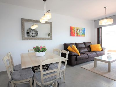 Photo for Casa Reloj, apartment with terrace and communal swimming pool