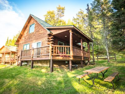 Photo for Wilderness Bay Lodge and Resort - WILD WINGS CABIN #6 - Cisco Chain of Lakes