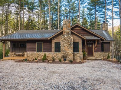 Photo for new craftsman style home on private lake