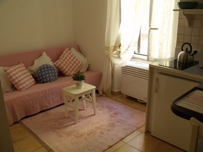 Photo for In Trastevere, the heart of Rome, romantic loft central and cheap