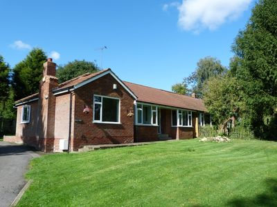 Photo for Lovely 3 bedroom bungalow in the English countryside