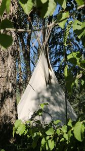 Photo for Wilderness B&B - Tipi with Double Bed