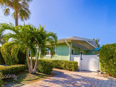 Photo for Duplex w/ shared heated pool & terrace - one block to the beach!