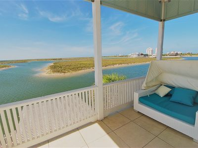 Photo for Private 3 bedroom 4 bath Bayfront home with swimming pool, and boat dock~ Luxury Rental ~