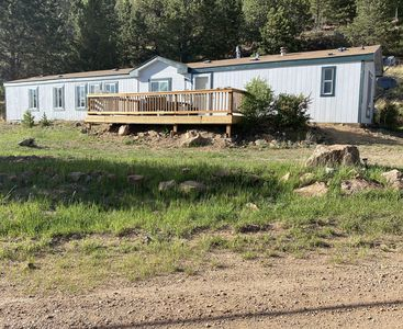 Spacious 3 bedroom home with awesome mountain view in historic Victor Colorado