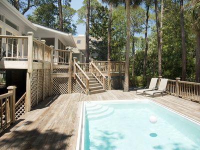 Photo for Spacious home w/ private pool & spacious deck with gas grill