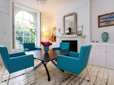 Photo for Lovely 2 bed 2 bath apartment with private garden, Sleeps 4, Islington (Veeve)