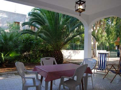"Photo for The Villa ""Riviera"" large and spacious with beautiful veranda and green garden"