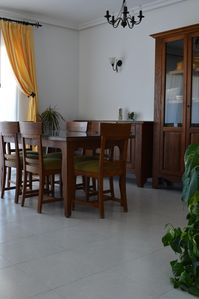 Our dining area - perfect for a nice meal with family or friends