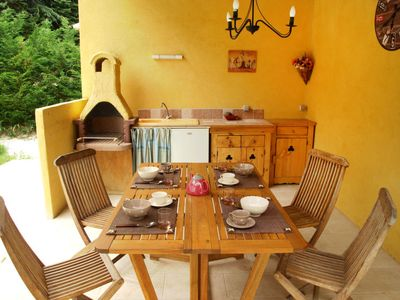Photo for Vacation home Mas de L'Oulivier in Roussillon - 6 persons, 3 bedrooms