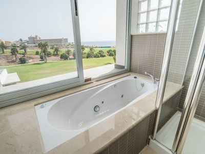 Photo for Amarilla Golf Villas - Unit 2 - luxury 3 bed with huge balcony and stunning views