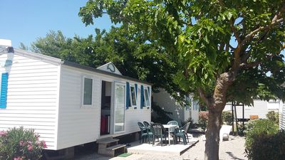 Photo for Mobile home 4/5 people under the sun of the Mediterranean