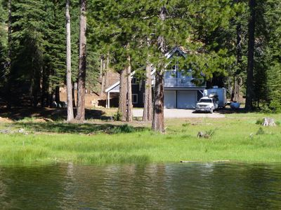 Photo for Lake Almanor West - Lake Front Cottage