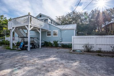 """""""Seas The Day"""" on Belmar Dr in Seagrove Beach ~ Pet-friendly with a fenced in yard!"""