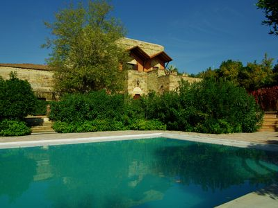 Photo for 15th century stone house: Villa Myrto - close to Chios port & airport
