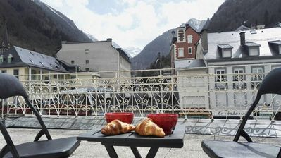 Photo for Nice 2 bedroom apartment in the center of Cauterets-Covered parking Winter