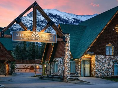Photo for Mountain Chalet | Heated Outdoor Pool + Indoor Hot Tub +Fireplace