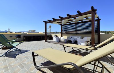 Photo for Mira6 - Terrace with solarium - San Vito Lo Capo, 550 meters from the beach - Wi-Fi