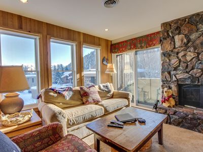 Photo for Cozy, dog-friendly home w/shared hot tub - walk to Bald Mountain ski lifts!
