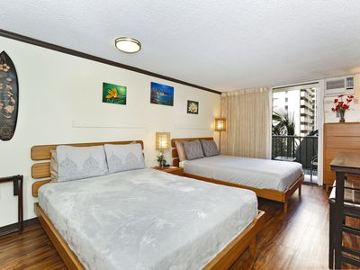 Photo for Fully Upgraded, Sleeps 4, Beach Gear Included!