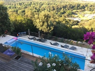 Photo for Corsica House Full Sea View-Infinity Pool