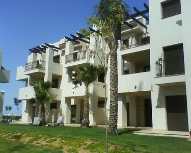 Photo for Ground floor, south facing , apartment in Roda Golf & Beach resort, with wifi