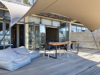 Photo for Trendy De Waterkant Apartment with Large Terrace