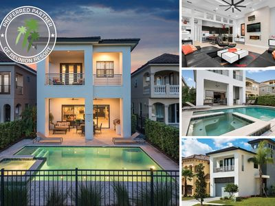 Photo for Modern Luxury | West Facing Private Pool & Spa, Game & Arcade Room