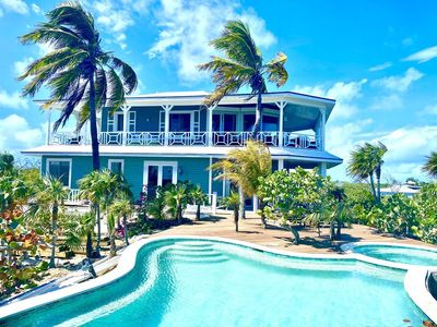 Photo for Most Luxurious Beachfront Estate w/ pool, jacuzzi , private boat, kayak and chef