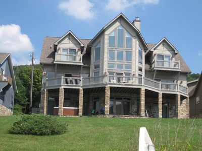 Photo for Beautiful 7-Bedroom Lakefront Home Near Mountain and Attractions