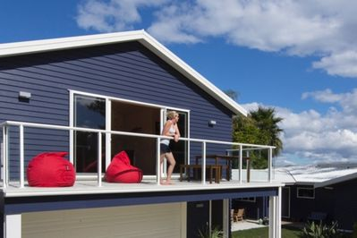 Manaia apartment deck