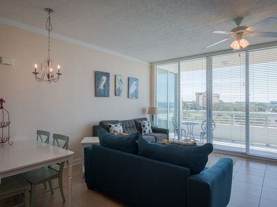 Photo for Luxury Condo w/ Gulf Views, WiFi, Resort Pool & Gym Access