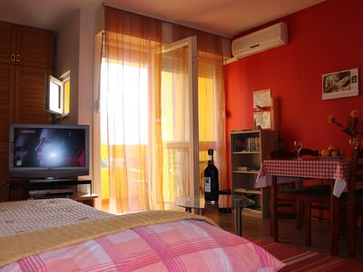 Photo for A warm place with a bike, 2 km from the city center and not far from the sea